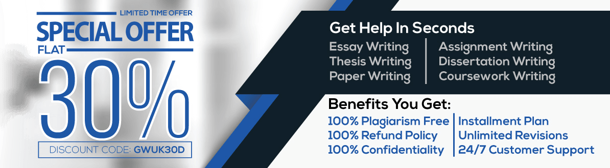 Assignment Writing Services Special Discount